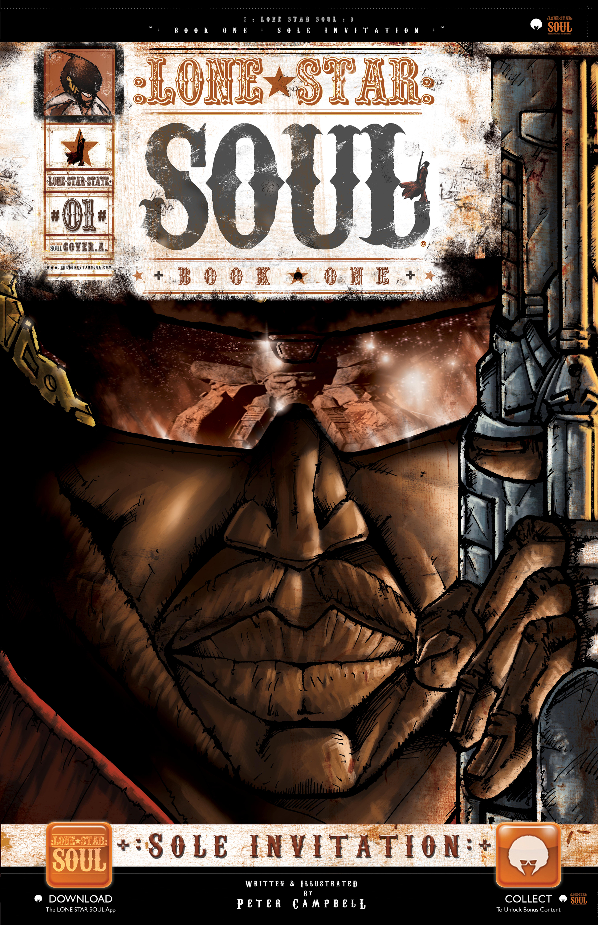 LONE STAR SOUL, BOOK ONE: SOLE INVITATION