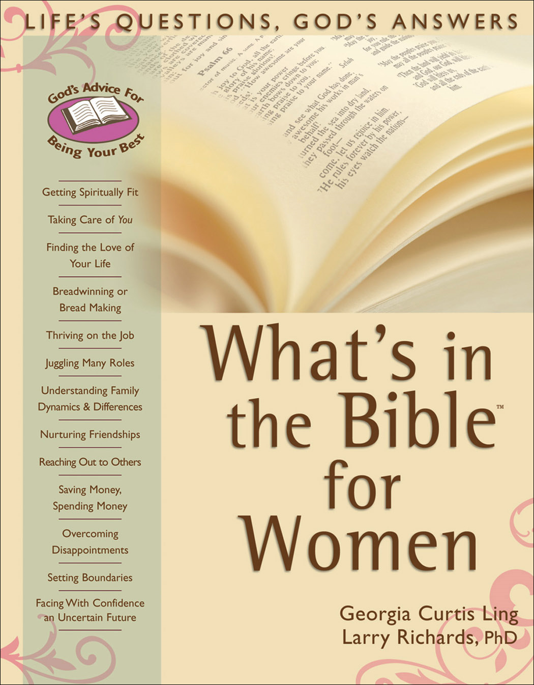 What's in the Bible for Women By: Larry Richards