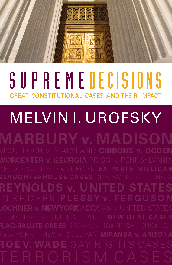 Supreme Decisions, Combined Volume