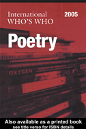 International Who's Who In Poetry 2005: