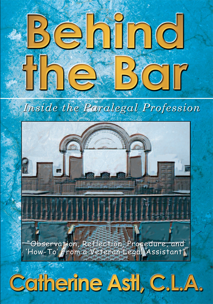 Behind the Bar By: Catherine Astl
