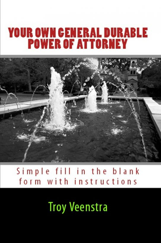 Your Own General Durable Power of Attorney