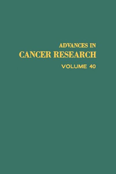download advances ın cancer research, volume 40