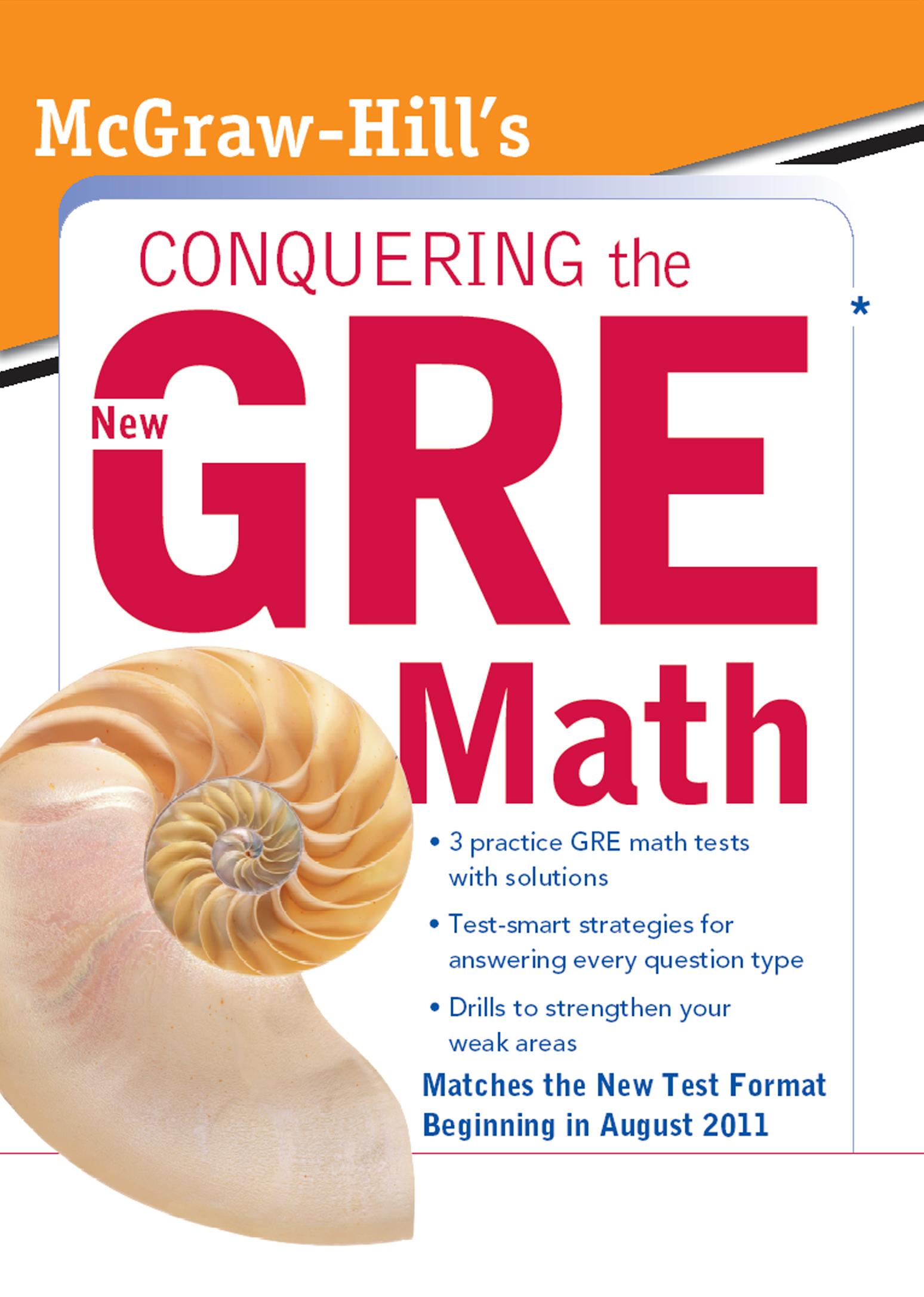 McGraw-Hill's Conquering the New GRE Math : McGraw-Hill's Conquering the New GRE Math: McGraw-Hill's Conquering the New GRE Math