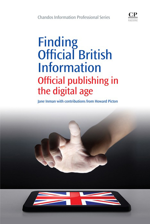 Finding official British Information Official Publishing In The Digital Age