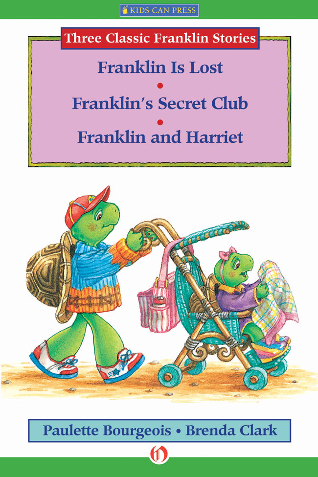 Franklin Is Lost, Franklin's Secret Club, and Franklin and Harriet