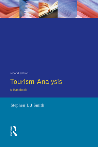 Tourism Analysis A Handbook