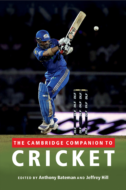 The Cambridge Companion to Cricket