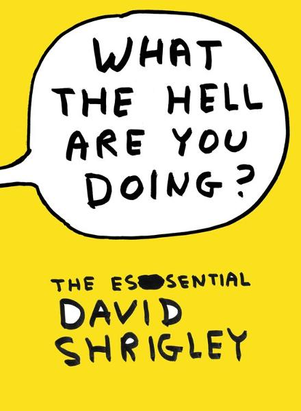 What The Hell Are You Doing?: The Essential David Shrigley The Essential David Shrigley