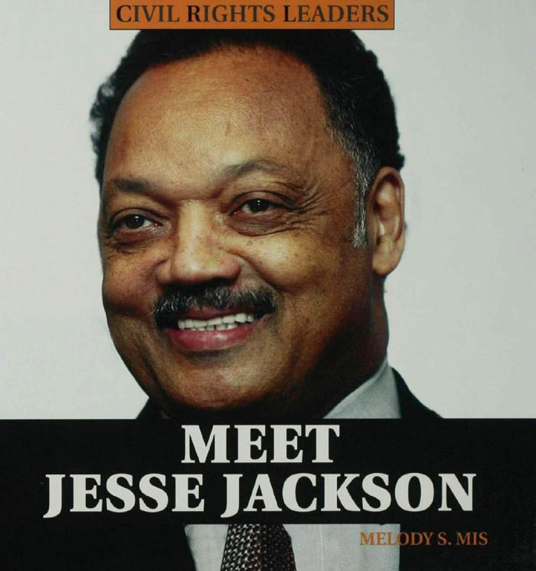 a description of the famous civil rights leader jesse jackson