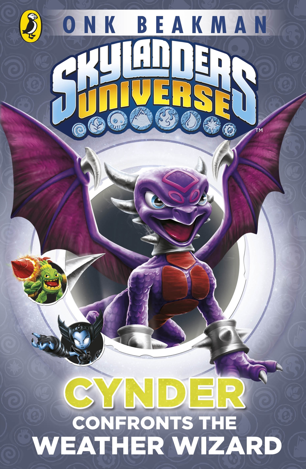 Skylanders Mask of Power: Cynder Confronts the Weather Wizard Book 5