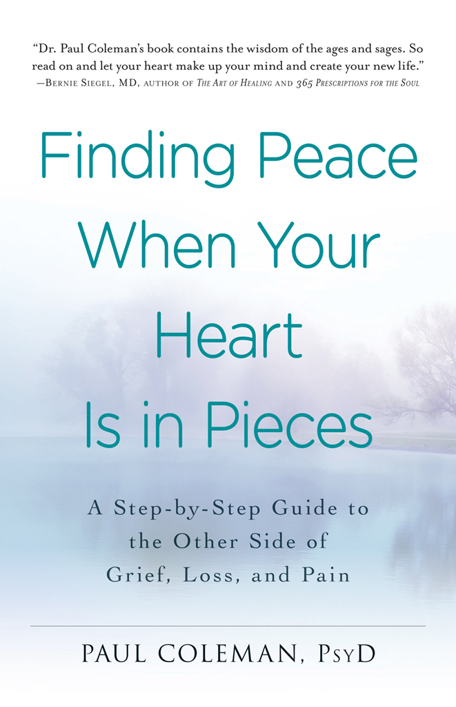 Finding Peace When Your Heart Is In Pieces A Step-by-Step Guide to the Other Side of Grief,  Loss,  and Pain