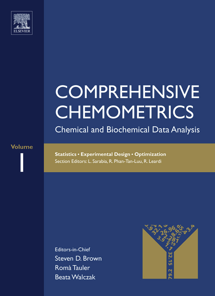 Comprehensive Chemometrics Chemical and Biochemical Data Analysis