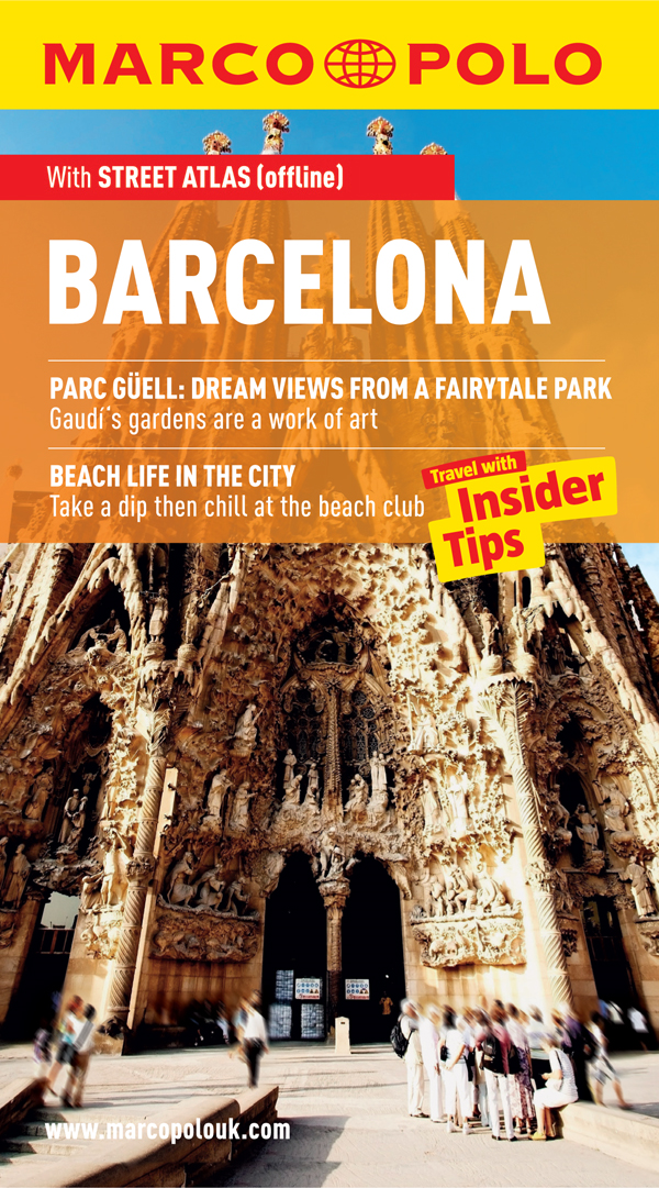 Barcelona Marco Polo Travel Guide: Travel With Insider Tips
