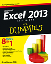 Excel 2013 All-In-One For Dummies: