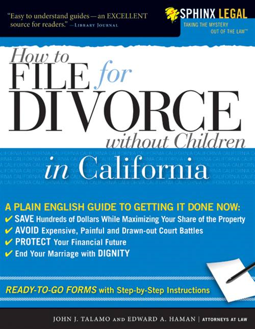 How to File for Divorce in California without Children