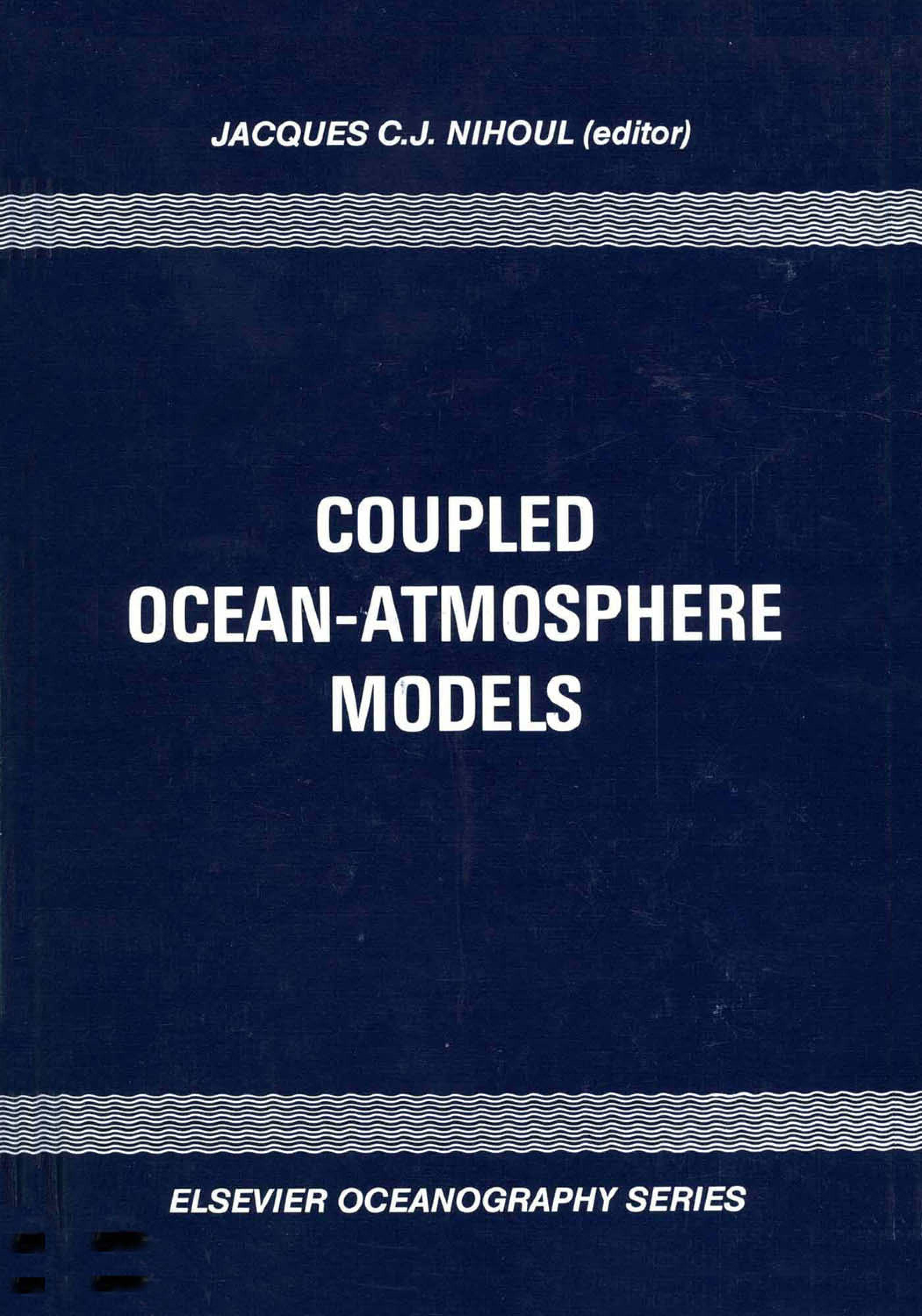 Coupled Ocean-Atmosphere Models