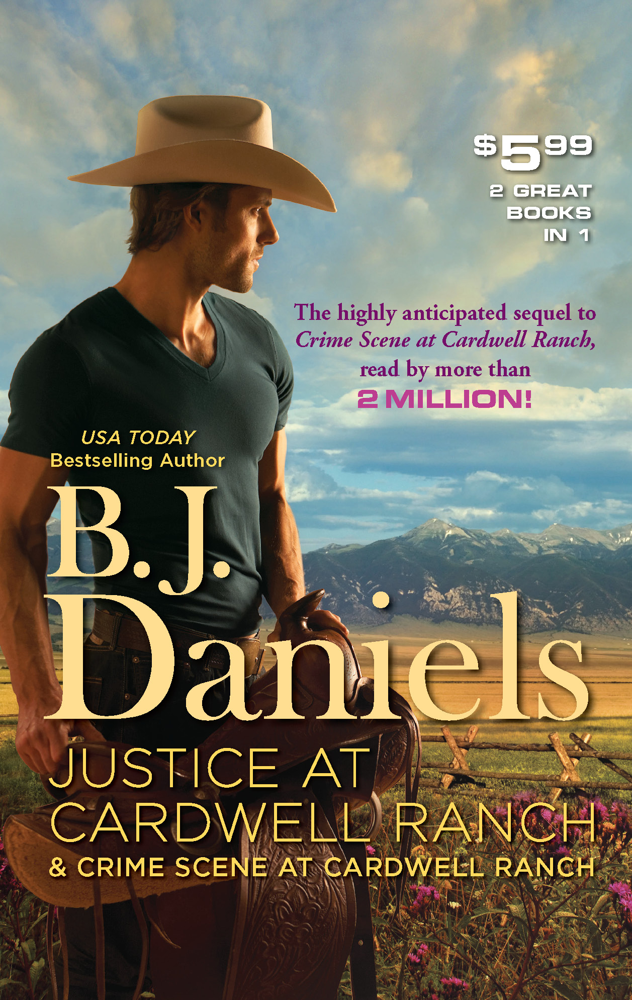 Justice at Cardwell Ranch & Crime Scene at Cardwell Ranch: Justice at Cardwell Ranch\Crime Scene at Cardwell Ranch By: B.J. Daniels