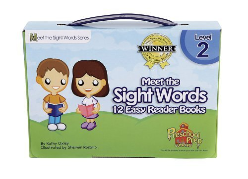 Meet the Sight Words Level 2 Easy Reader Books (set of 12 books)
