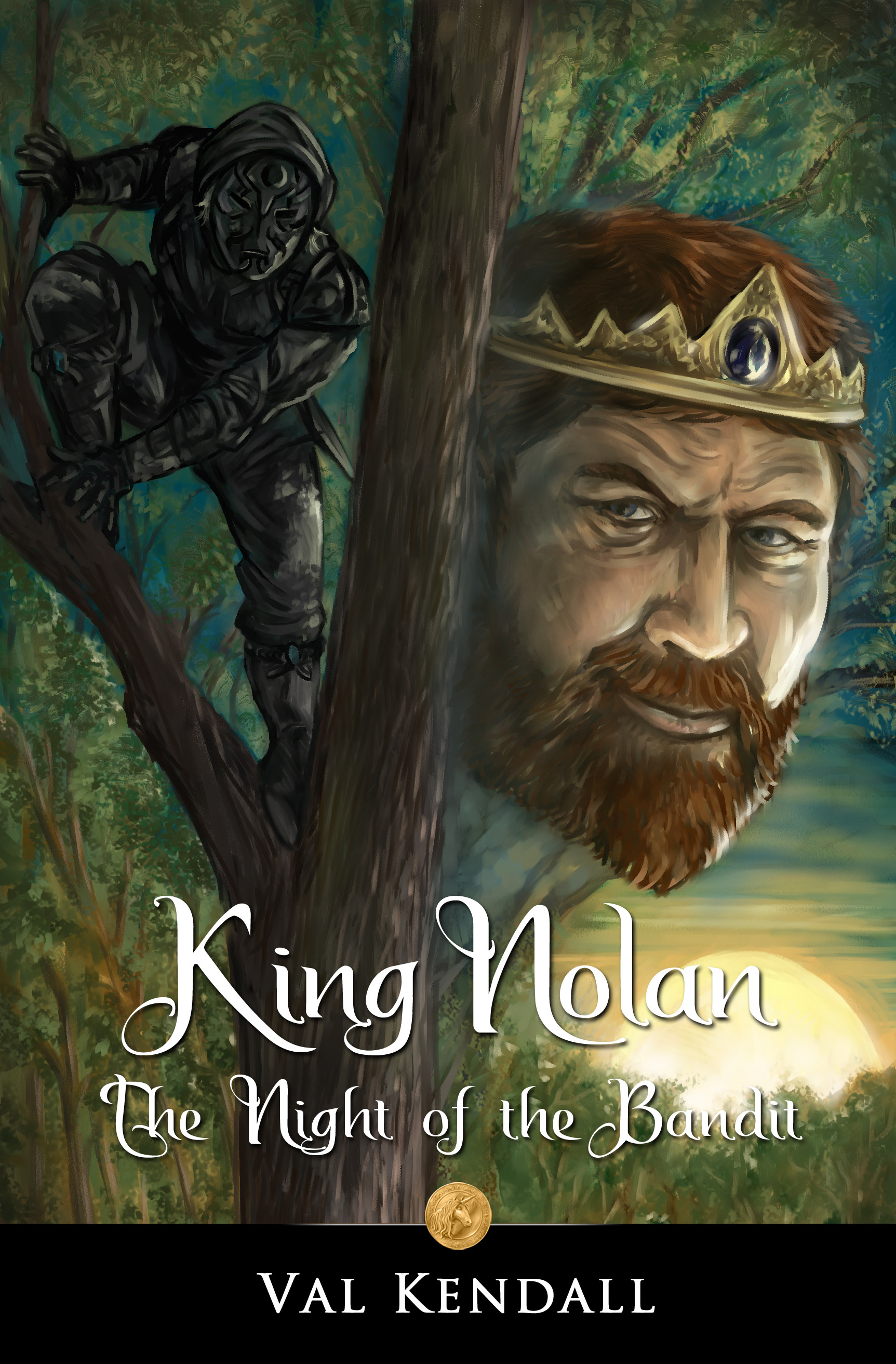 King Nolan - The Night of the Bandit - Book 1 [Short Novel] (Guardians of Har)