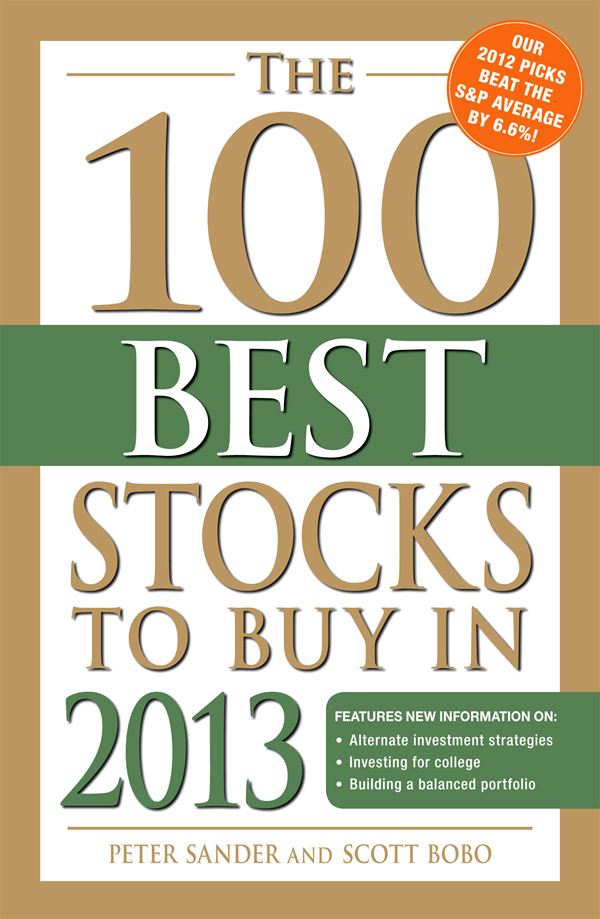 The 100 Best Stocks to Buy in 2013