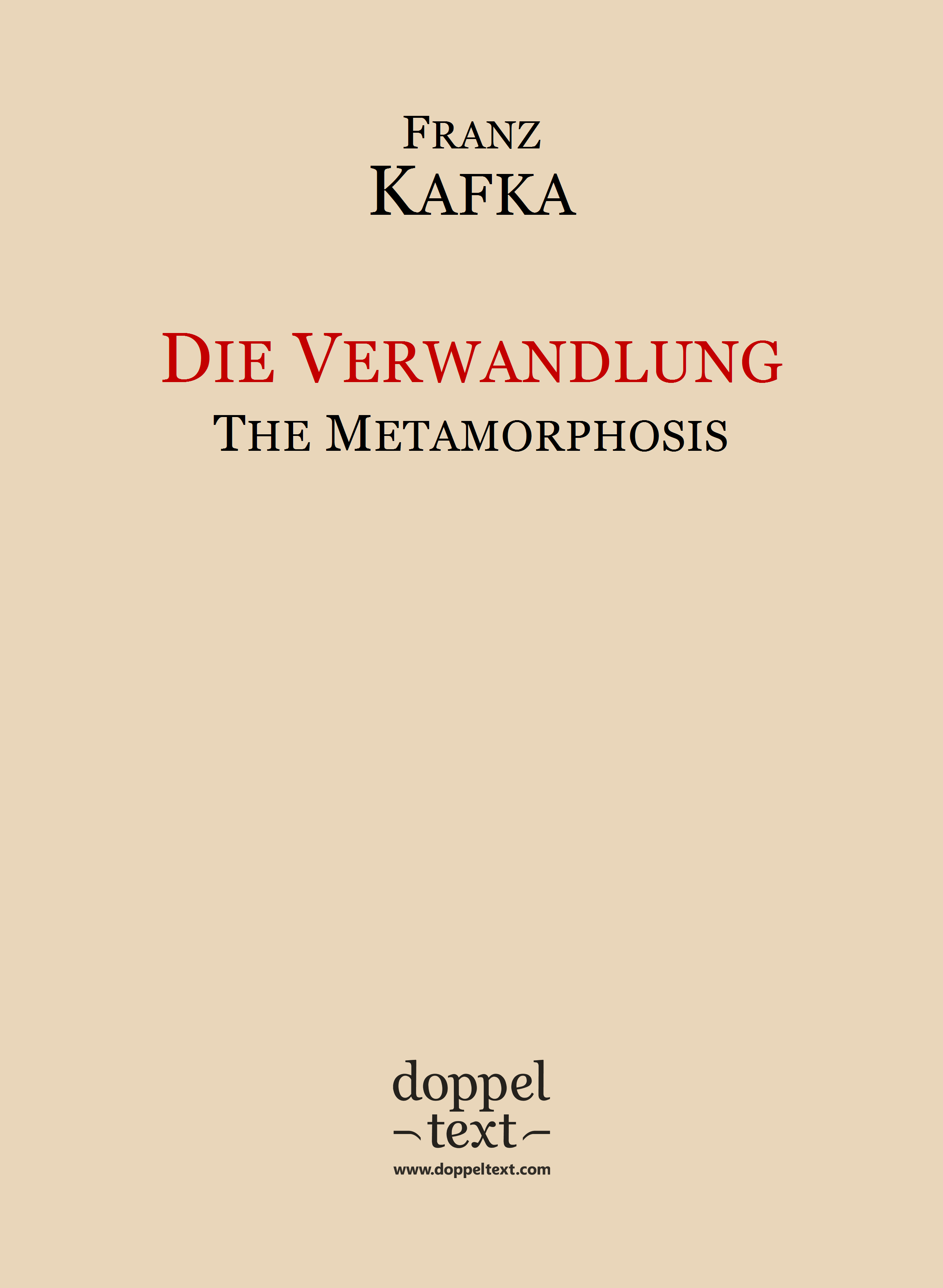 Die Verwandlung / The Metamorphosis – Dual Language