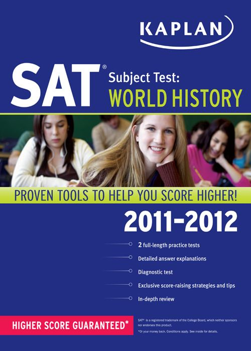Kaplan SAT Subject Test World History By: Peggy J Martin