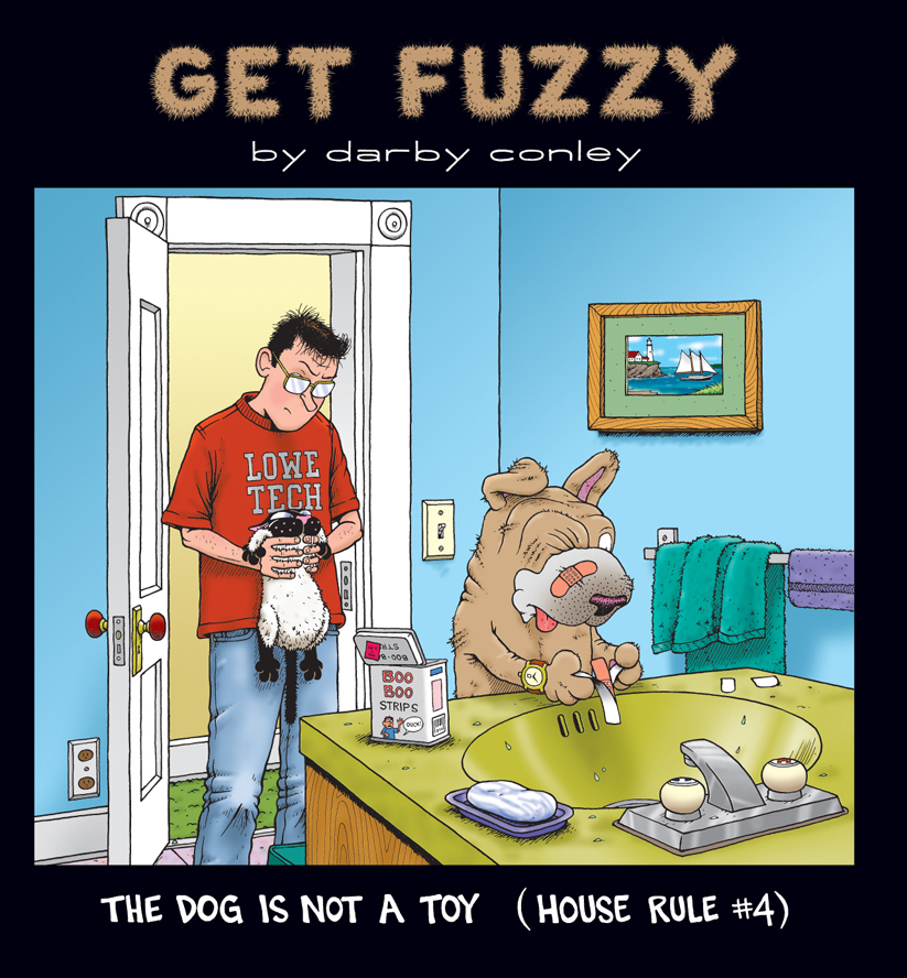 Dog Is Not a Toy: House Rule #4