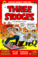 The Three Stooges, Number 4, Up An Atom