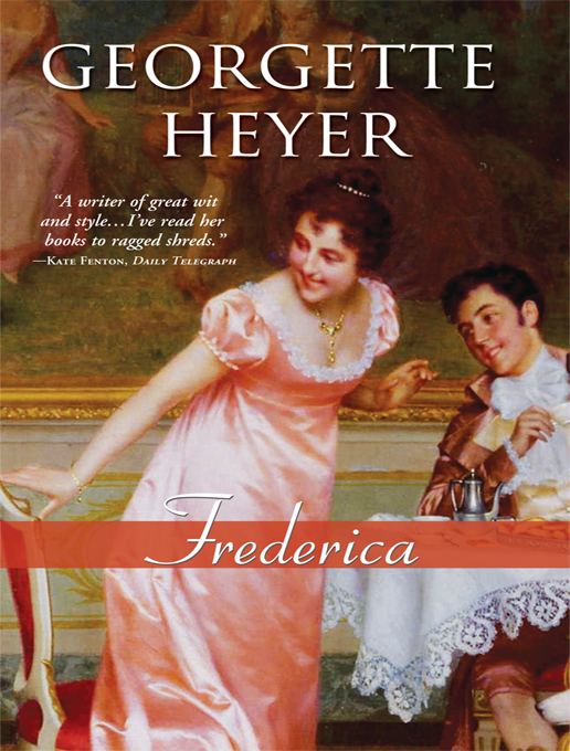 Frederica By: Heyer, Georgette