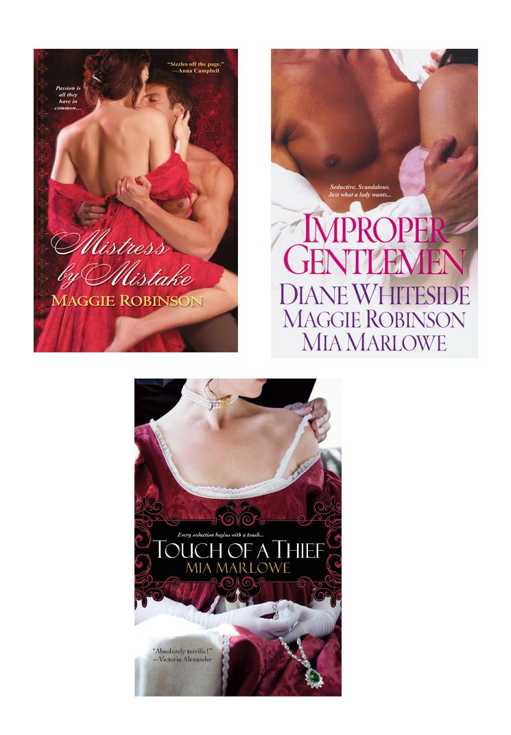 Improper Gentlemen Bundle with Touch of a Thief & Mistress By Mistake