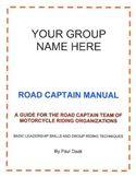 online magazine -  Road Captain Manual