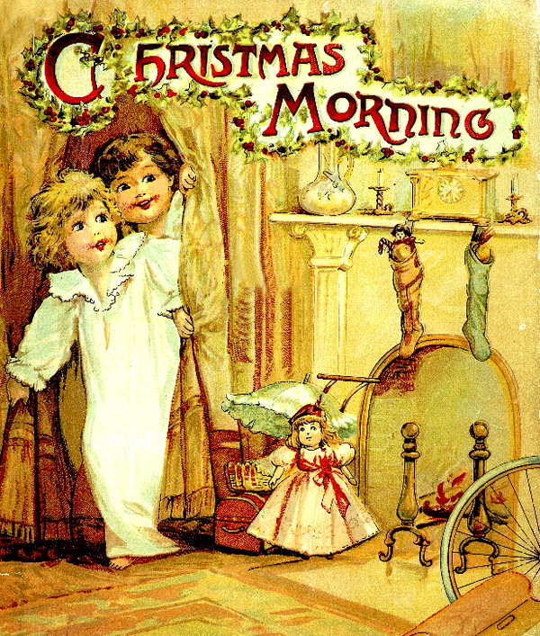 A Christmas morning