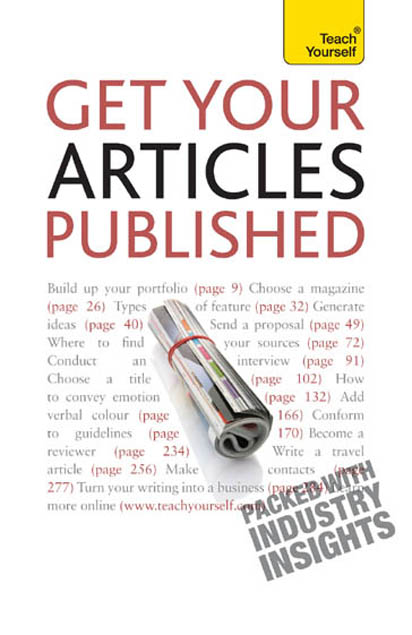 Get Your Articles Published: Teach Yourself