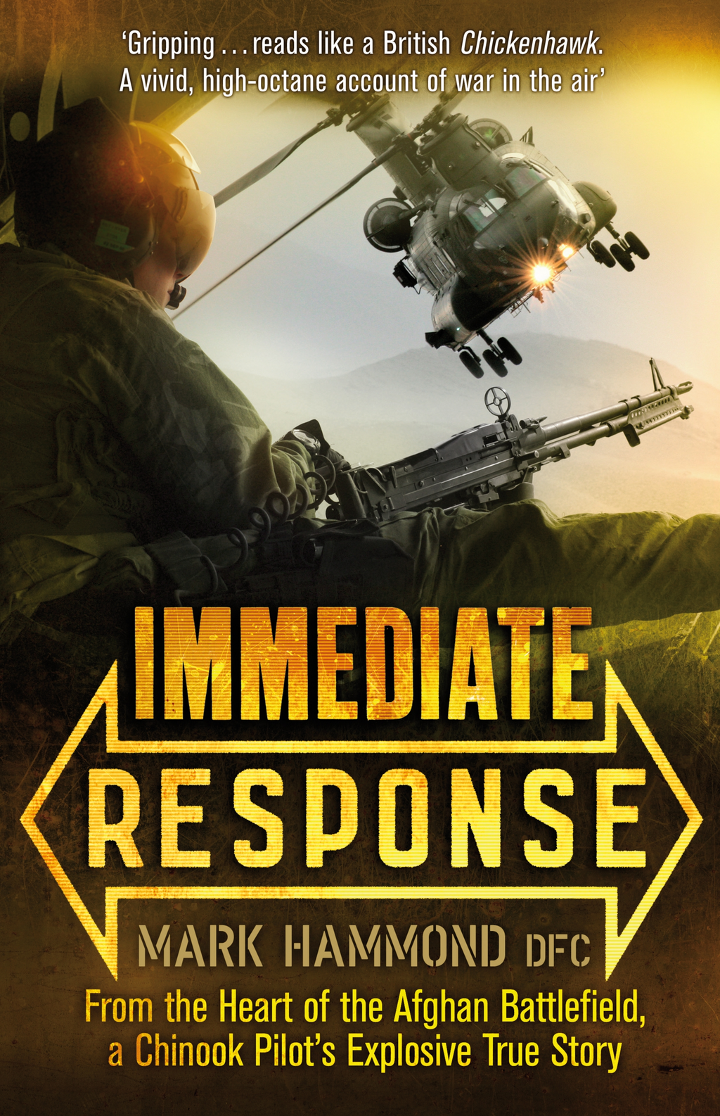 Immediate Response By: Mark Hammond