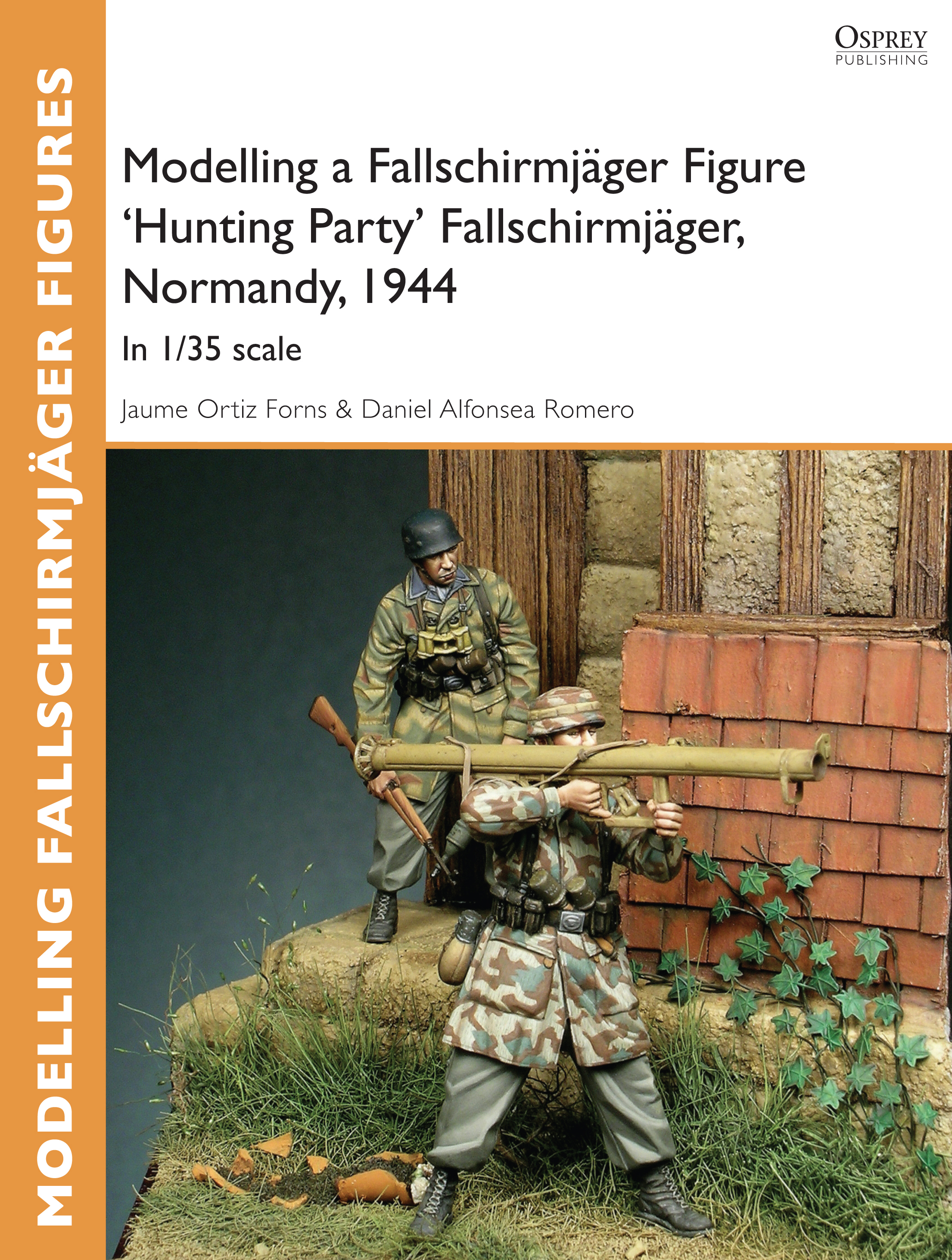 Modelling a Fallschirmj�ger Figure 'Hunting Party' Fallschirmj�ger,  Normandy,  1944: In 1/35 scale