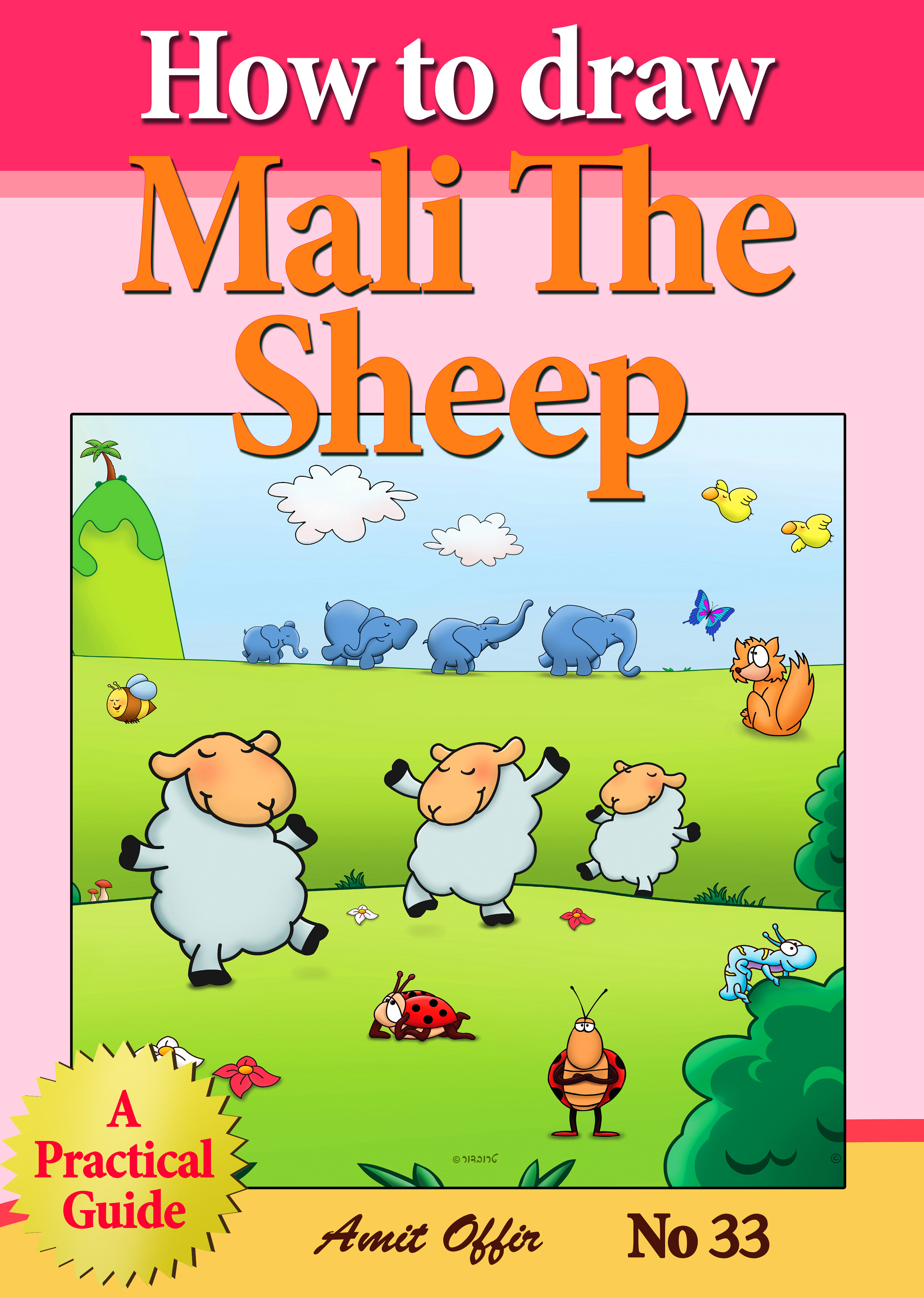 How to Draw Mali the Sheep
