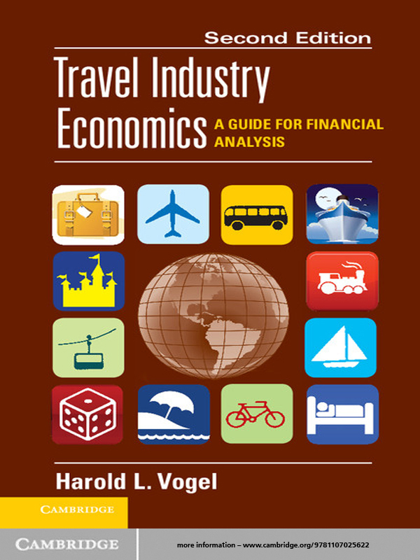 Travel Industry Economics A Guide for Financial Analysis