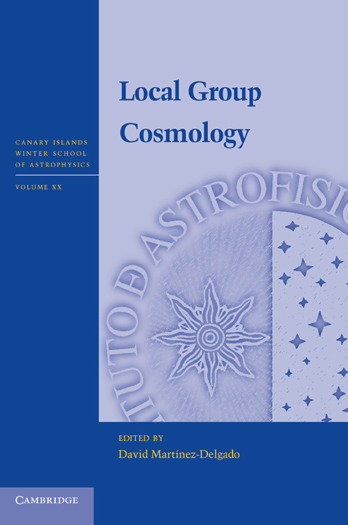 Local Group Cosmology