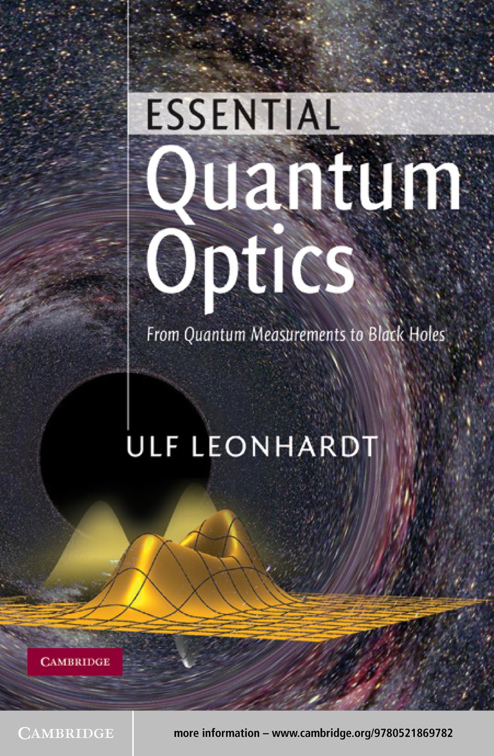 Essential Quantum Optics From Quantum Measurements to Black Holes