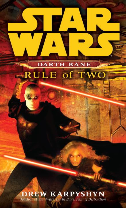 Cover Image: Rule of Two: Star Wars (Darth Bane)