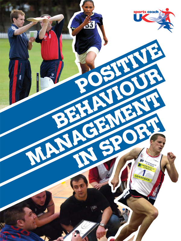 Positive Behaviour Management in Sport