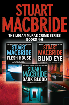Logan McRae Crime Series Books 4-6: Flesh House, Blind Eye, Dark Blood