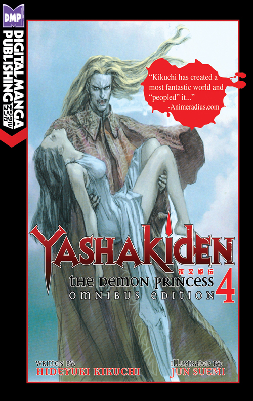 Yashakiden: The Demon Princess Vol. 4 Omnibus Edition