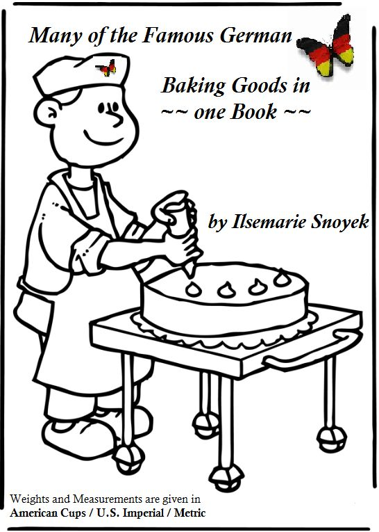 Many of the Famous German Baking Goods in one book