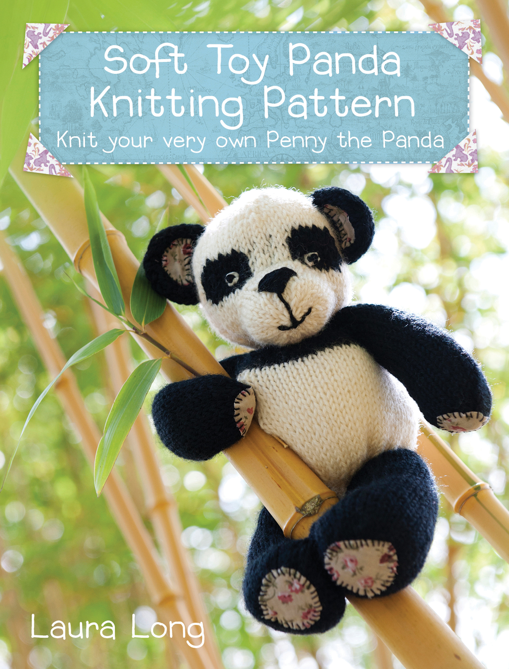 Penny the Panda Knitting Pattern A quick & easy knitting project