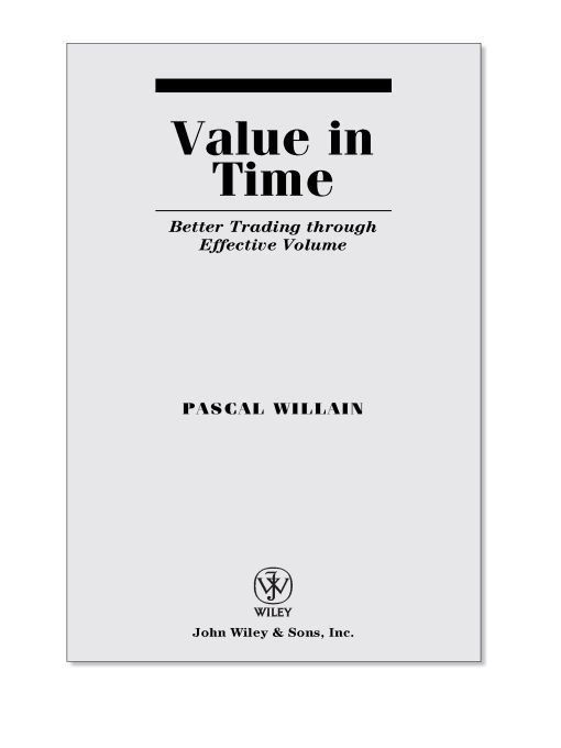 Value in Time By: Pascal Willain