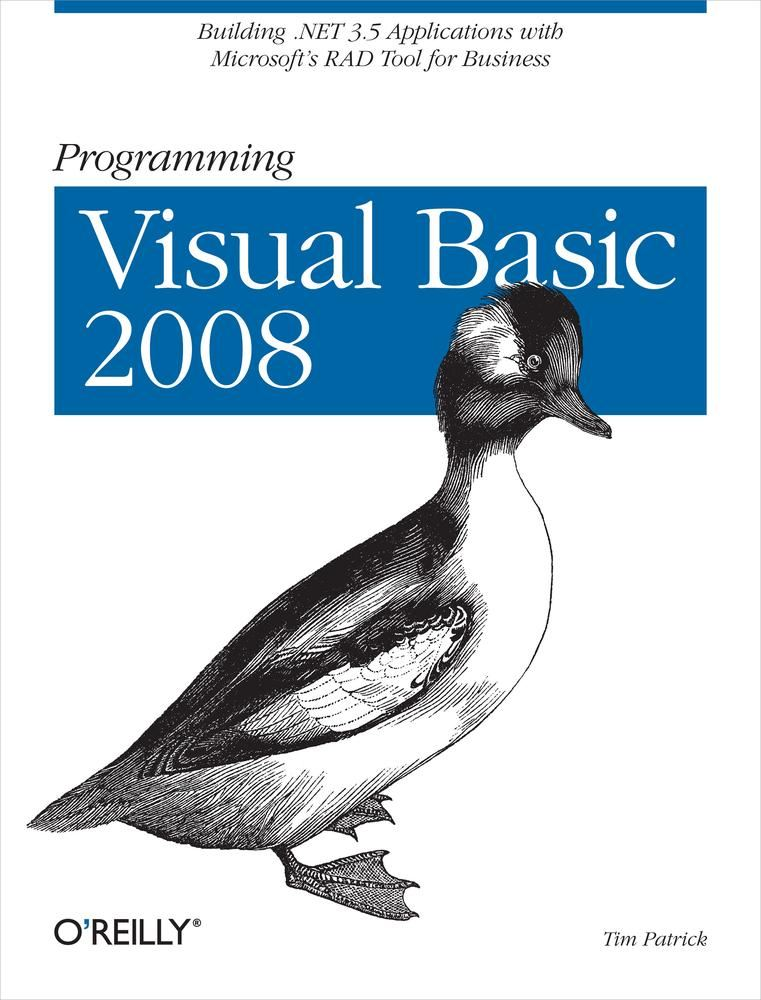 Programming Visual Basic 2008
