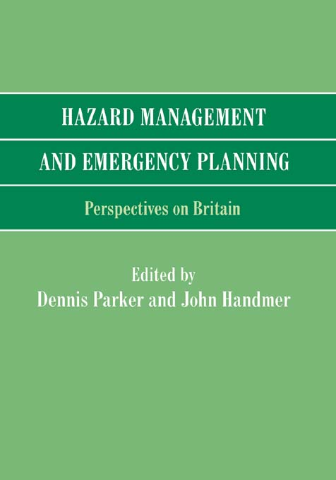 Hazard Management and Emergency Planning Perspectives in Britain