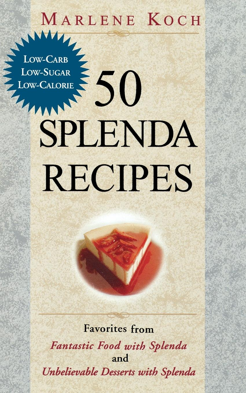 50 Splenda Recipes